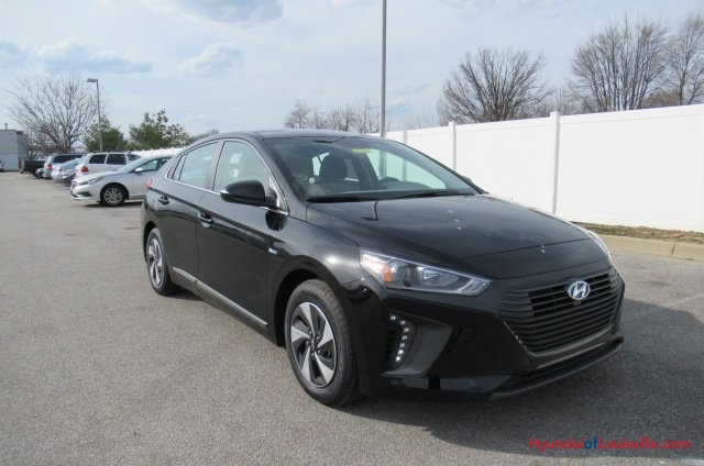 New 2017 Hyundai Ioniq Hybrid Sel 4d Hatchback In Louisville