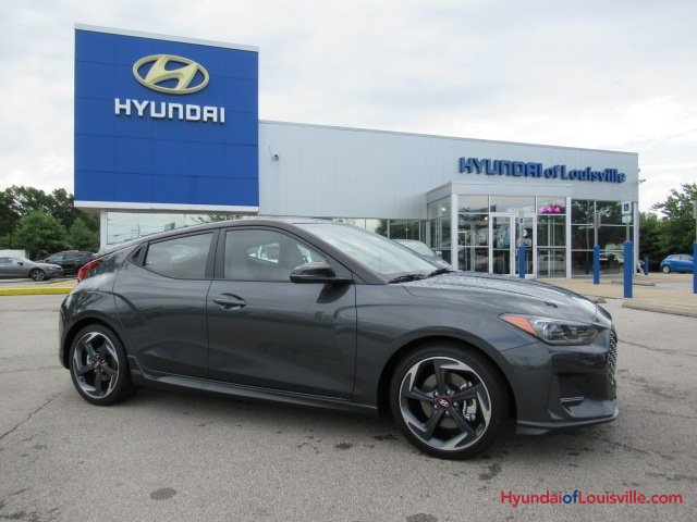 New 2019 Hyundai Veloster Turbo Ultimate 3d Hatchback In Louisville