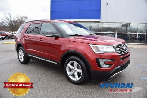 Pre-Owned 2016 Ford Explorer XLT 4WD 4D Sport Utility